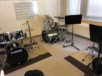Schlagzeugraum COrona